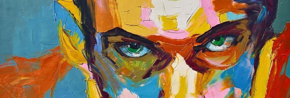 Portrait, Augen