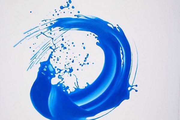 Acrylbild auf Leinwand Wasser