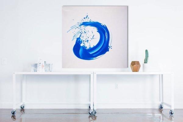 Acrylbild auf Leinwand Wassertropfen