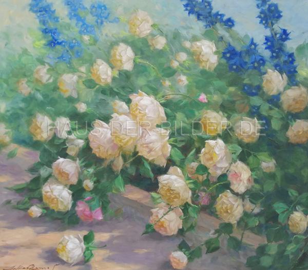 Leinwandbild Klassisch Rose