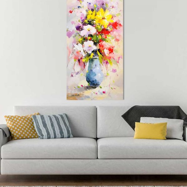 Blumenstrauß Leinwandbild Cavaretto