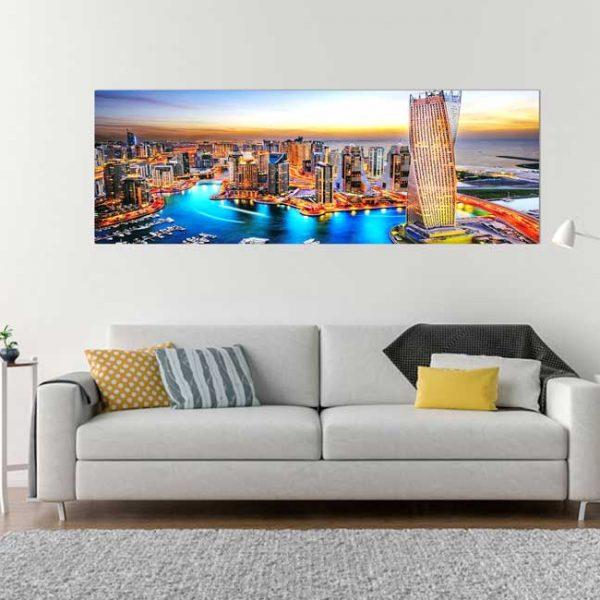 Dubai Wohnzimmerbild