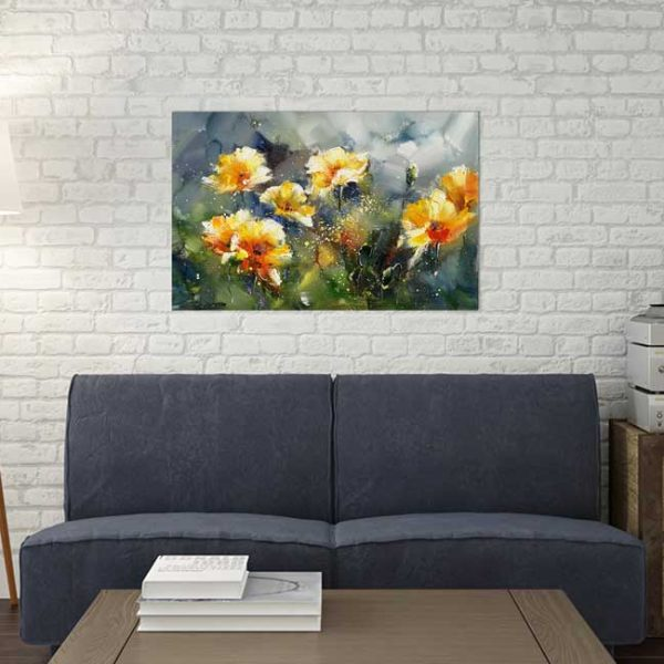 Blumen Leinwandbild Cavaretto