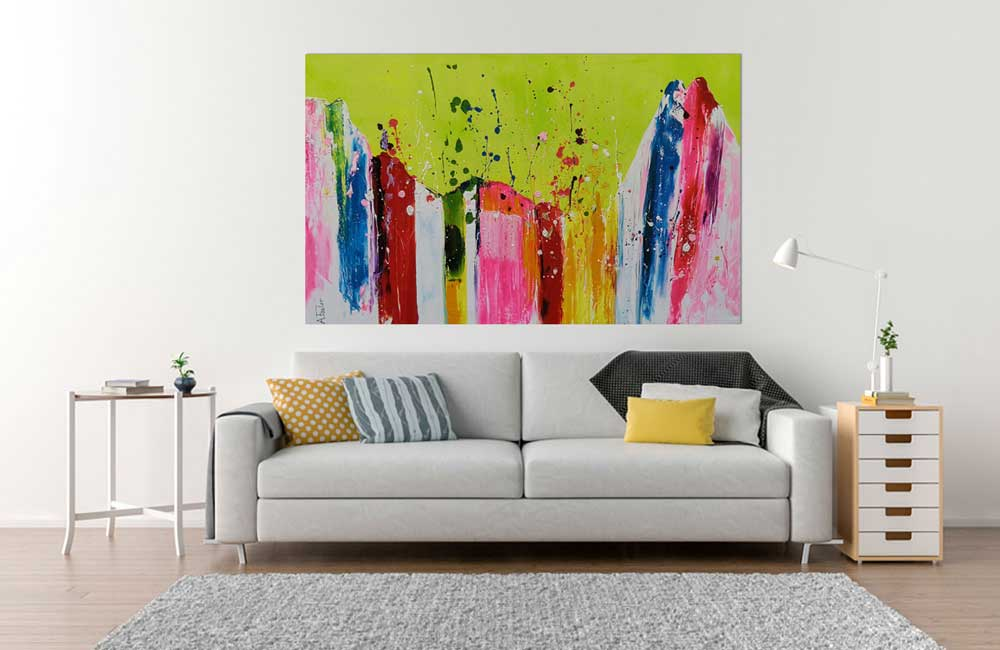 Acrylbild Abstrakt Foster