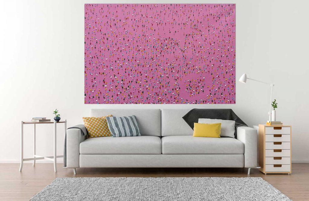 Pink Pointers by Haus der Bilder