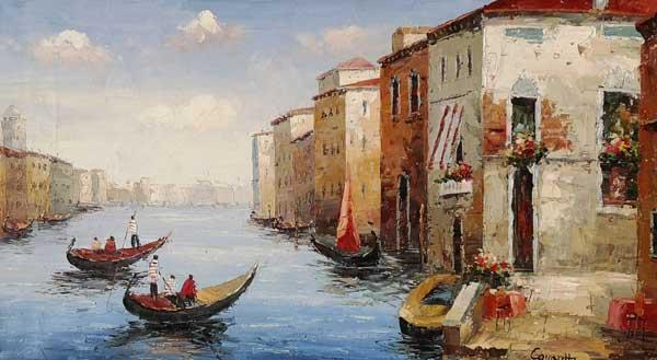 Leinwandbild Cavaretto Venezia Klassisch
