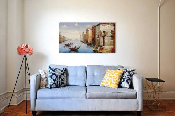 Leinwandbild Cavaretto Venezia Klassisch Wohnzimmer