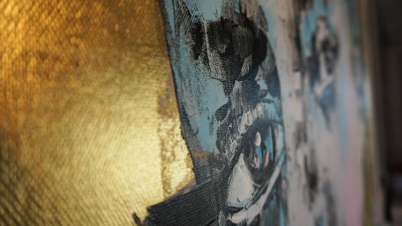 Bright Golden Face im Detail