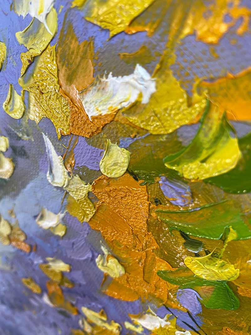 Provence im Detail auf Leinwand